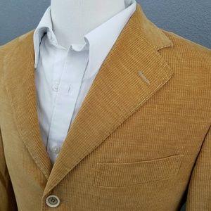 PAL ZILERI Corduroy Blazer Cotton Cashmere Italy